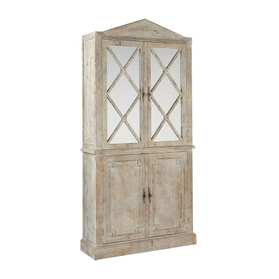Furniture Classics Cabinet with Mirrored Doors