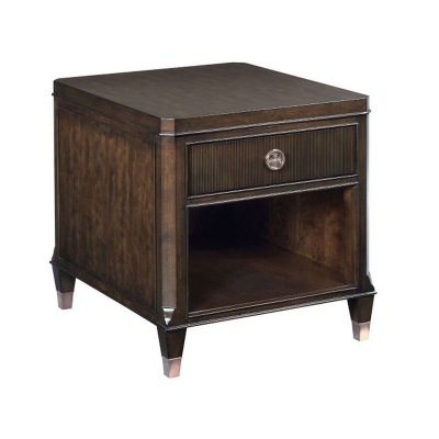 Hammary Drawer End Table