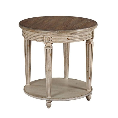 Hammary Round End Table