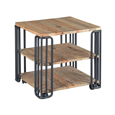 Hammary Plank End Table