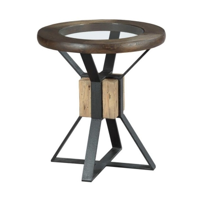 Hammary Compass End Table