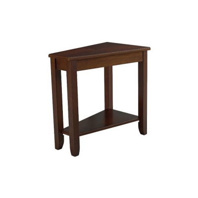 Hammary Wedge Chairside Table cherry