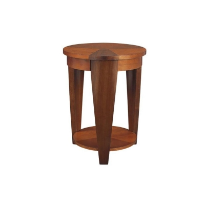 Hammary Round Chairside Table
