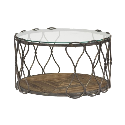 Hammary Round Cocktail Table Kd