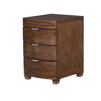 Hammary Chairside Table Rich Cherry Finish