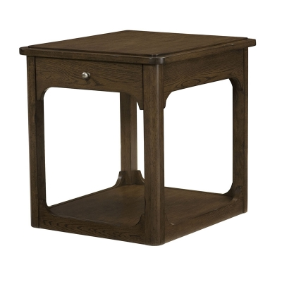 Hammary Rectangular Drawer End Table Kd