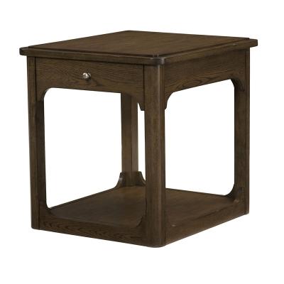 Hammary Rectangular Drawer End Table Kd