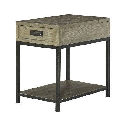 Hammary Charging Chairside Table Kd
