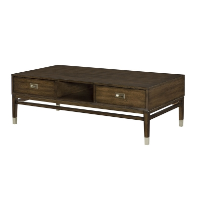 Hammary Rectangular Storage Cocktail Table