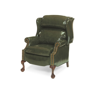 Hancock and Moore Bustleback Ball and Claw Power Recliner
