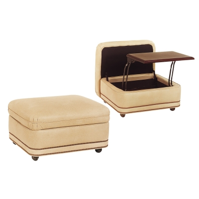 Hancock and Moore 2032SO Austin Storage Ottoman Discount