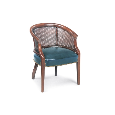 Hancock and Moore Cane Back Chair