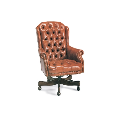 Hancock and Moore Director's Tufted Swivel-Tilt Chair