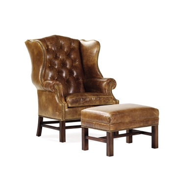 Hancock and Moore 4542 East Bay Tufted Chair Discount