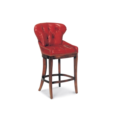 Hancock and Moore Tufted Bar Stool