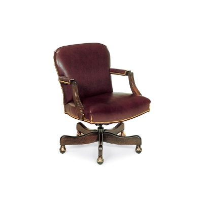 Hancock and Moore Swivel-Tilt Chair