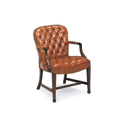 Hancock And Moore 8316 Georgetown Tufted Side Chair Discount Furniture At Hickory Park Furniture
