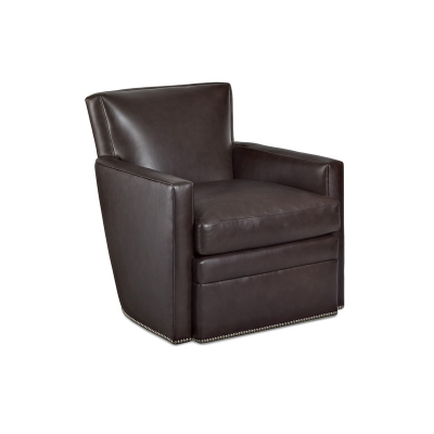 Hancock and Moore Swivel Chair