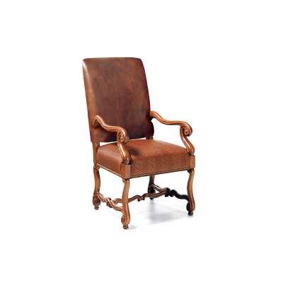 Hancock and Moore Dining Arm Chair