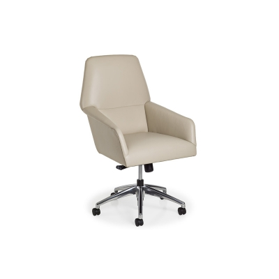 Hancock and Moore Swivel Tilt Chair with pneuamatic lift and casters