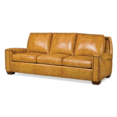 Hancock And Moore 5785 3 Lynchburg Sofa Discount Furniture At Hickory Park Furniture Galleries
