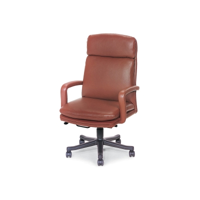 Hancock and Moore High-Back Open Arm Swivel-Tilt Pneumatic Lift Chair