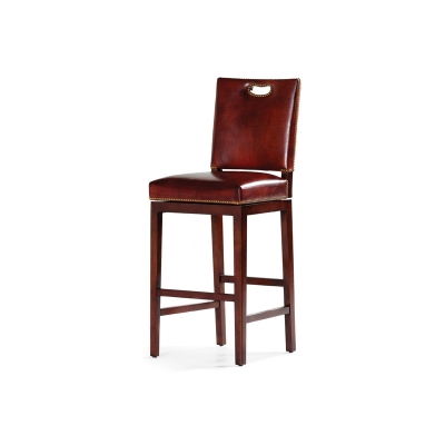 Hancock and Moore Ryder Swivel Barstool