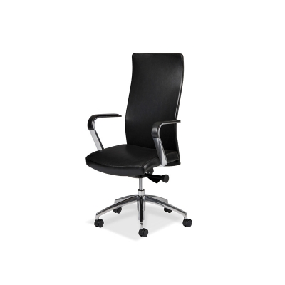 Hancock and Moore Sleek Swivel Tilt Chair