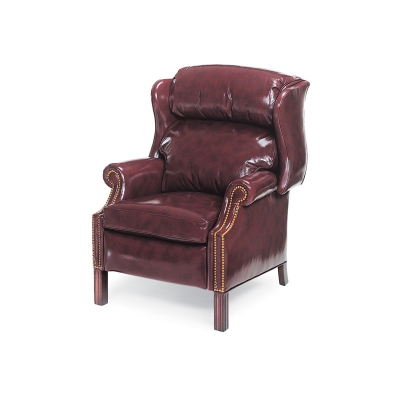 Hancock and Moore Wing Chair Power Recliner
