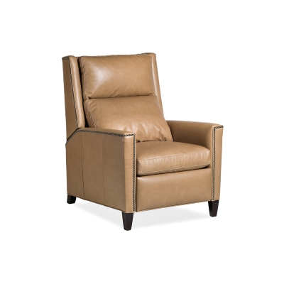 Hancock and Moore Leather High Back Recliner
