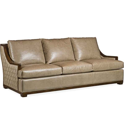 Hancock and Moore Quilted Sofa