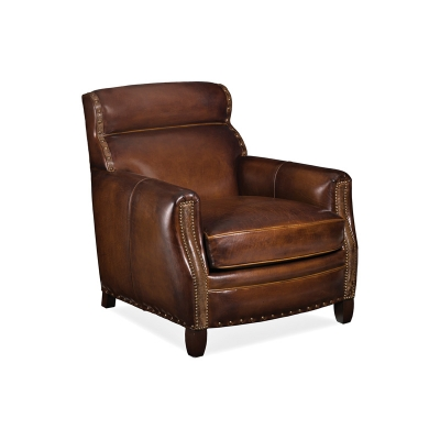 Hancock and Moore Back Leather Chair
