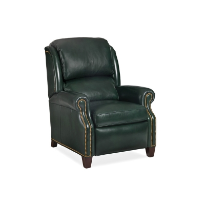Hancock and Moore Leather Power Recliner