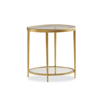 Hancock and Moore Brass Side Table