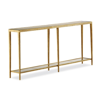 Hancock and Moore Large Brass Console