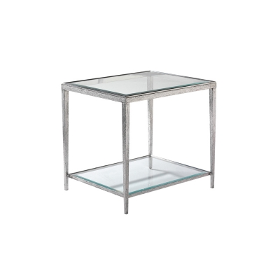 Hancock and Moore Nickel Side Table
