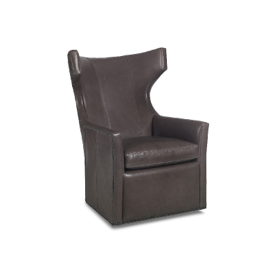Hancock and Moore Memory Swivel Chair