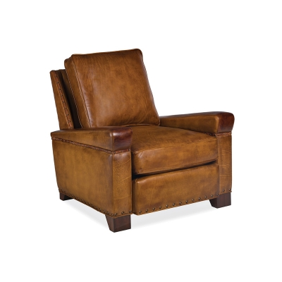 Hancock and Moore Leather Loose Back Chair