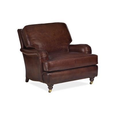 Hancock and Moore Leather Chair