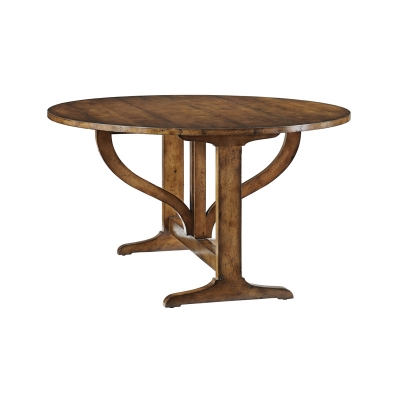 Hancock and Moore Drop Leaf Console