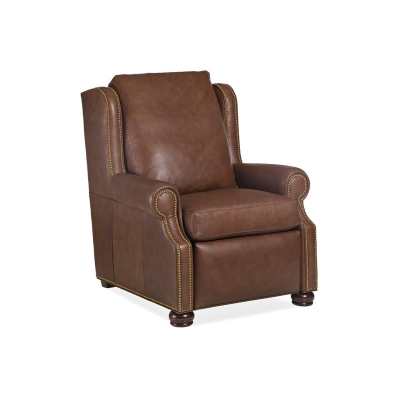 Hancock and Moore Motion Power Leather Recliner