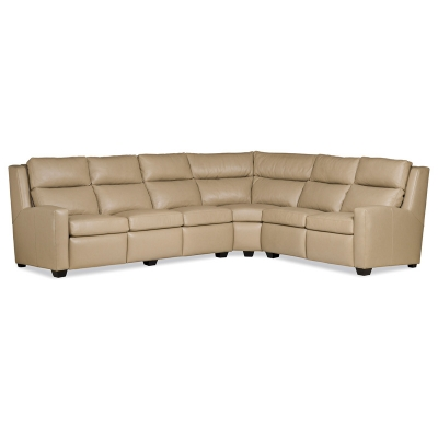 Hancock and Moore Leather Sectional