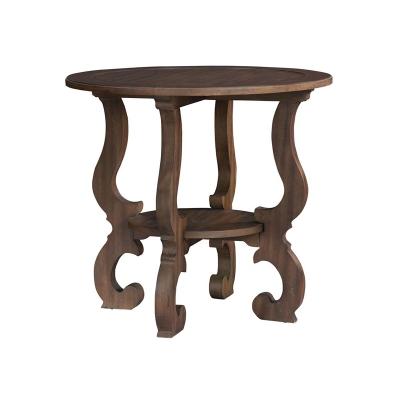 Hekman Baroque Round Lamp Table