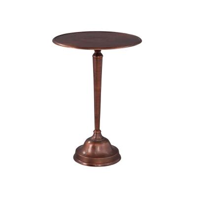 Hekman Copper Cast Side Table