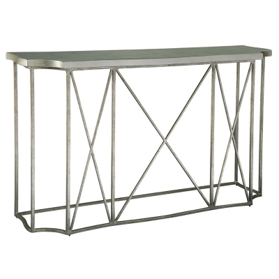 Hekman Console Table with Metal Base