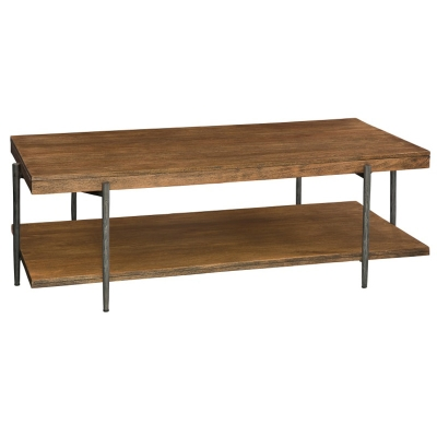 Hekman Rectangular Coffee Table with Shelf