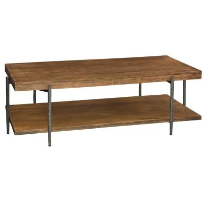 Hekman Rectangular Coffee Table with Shelf