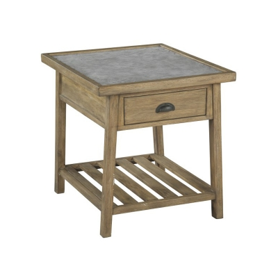 Hekman Rectangular End Table with Drawer