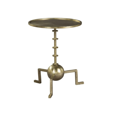 Hekman Round Iron Ring Chairside Table