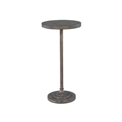 Hekman Slim Post Chairside Table